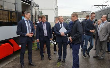 The UKCP factory is the key point of Mr. Teksler's visit to Ust-Katav